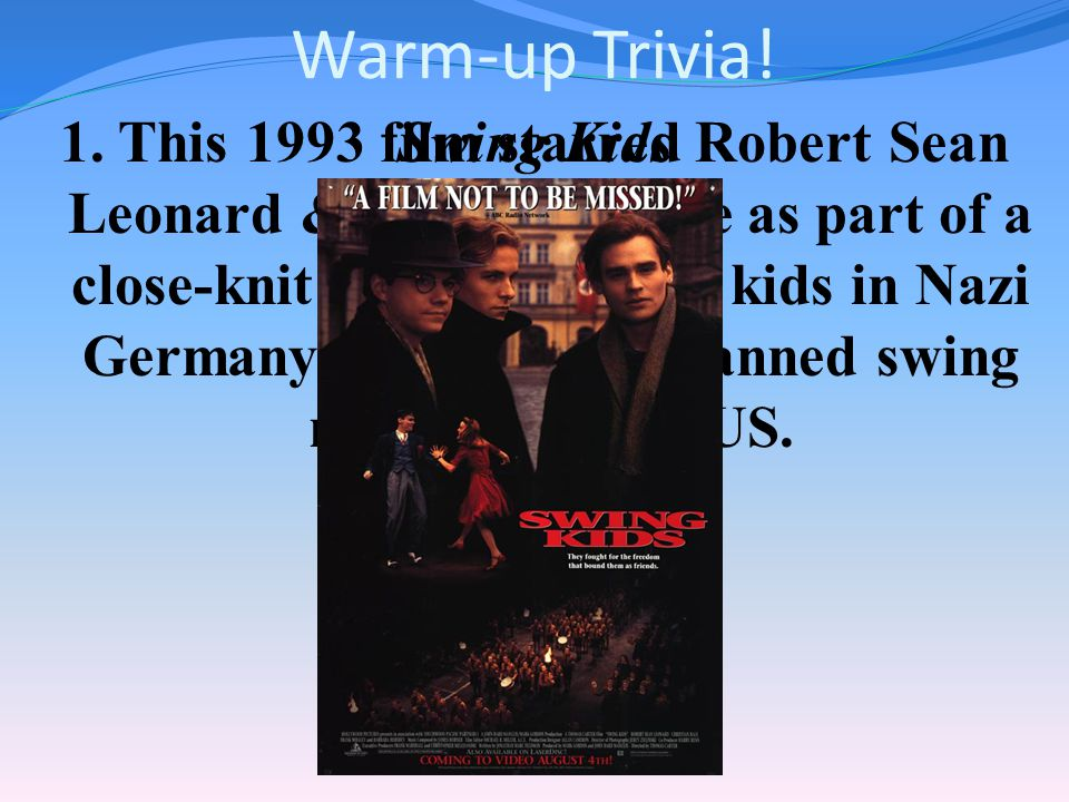 Warm-up Trivia!