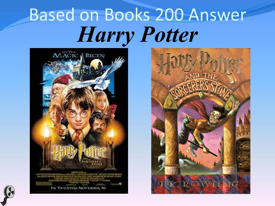 Based on Books 200 This magical movie series is based on the books about a young boy with a great destiny who is rescued from the outrageous neglect of his aunt and uncle and proves his worth while attending a magical school.