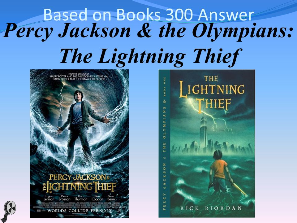 Based on Books 300 A teenager discovers he s the descendant of a Greek god and sets out on an adventure to settle an on- going battle between the gods in this film adaptation of the first book in the best-selling YA series by Rick Riordan.