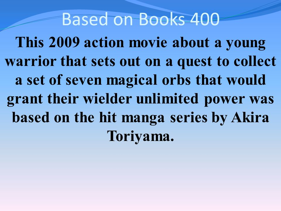 Based on Books 300 Answer Percy Jackson & the Olympians: The Lightning Thief