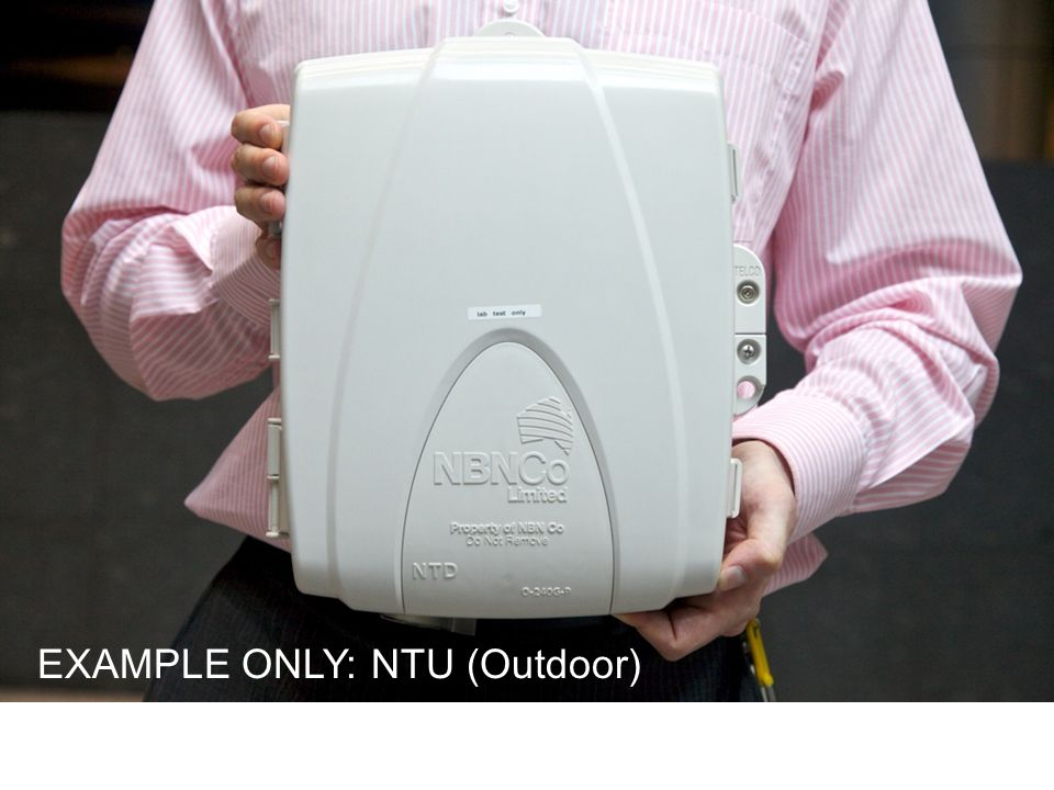 EXAMPLE ONLY: NTU (Outdoor)