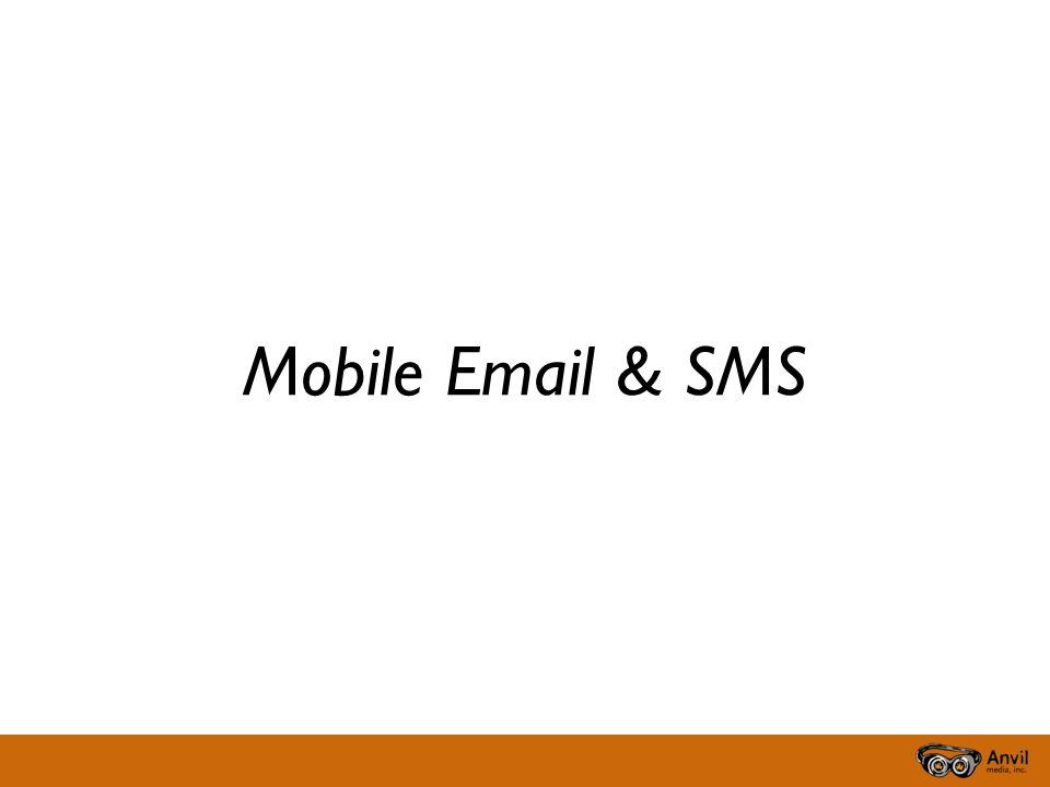 Mobile  & SMS