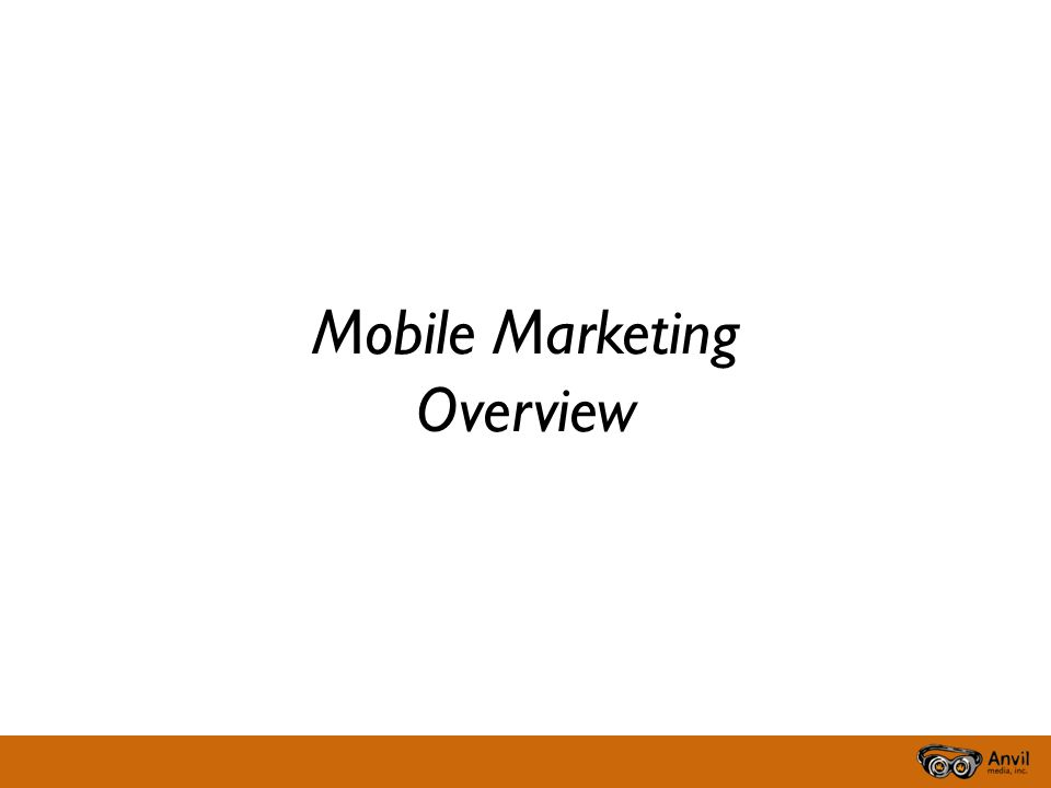 Why Mobile Personal Targeted Scalable Immediate Actionable Portable Interactive Measurable