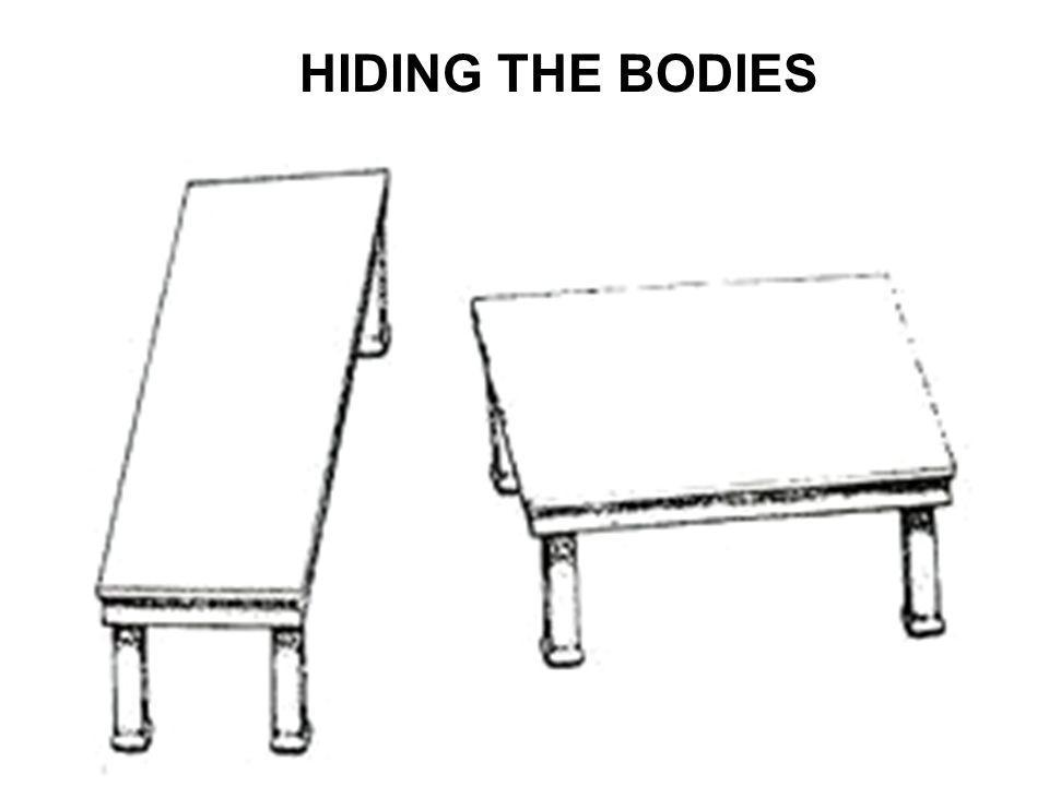 HIDING THE BODIES
