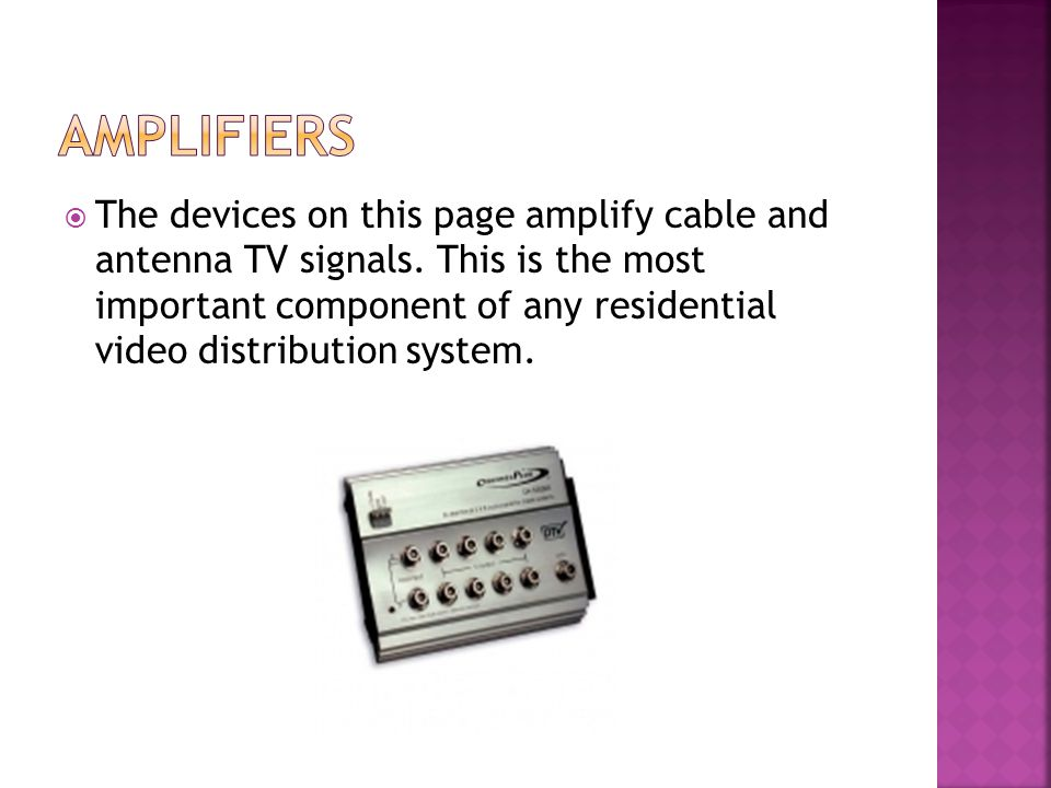 The HDD & HMDD Demodulators permit the delivery of digital television signals in analog format directly to a television.