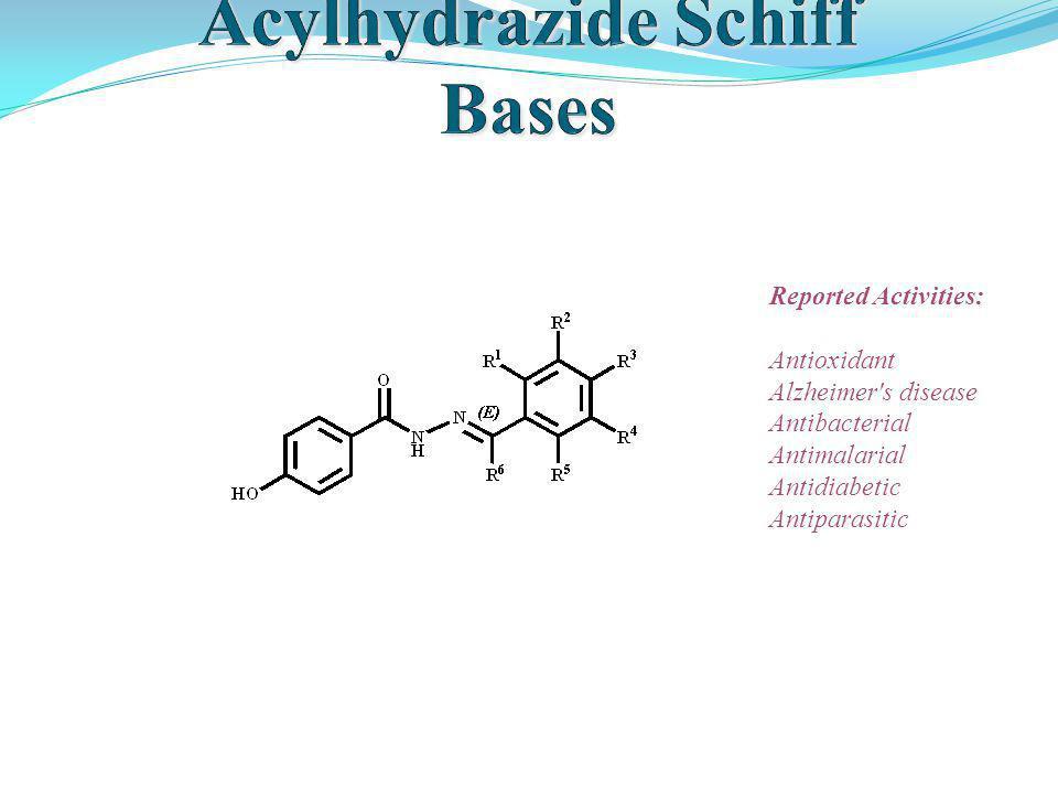 Reported Activities: Antioxidant Alzheimer's disease Antibacterial Antimalarial Antidiabetic Antiparasitic