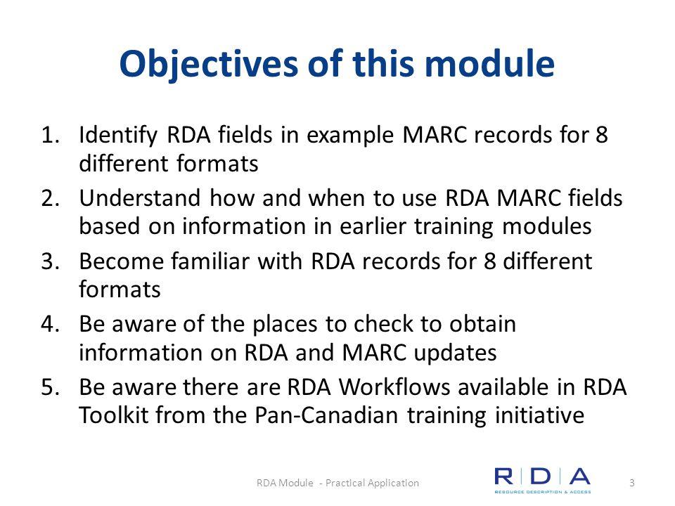 Book Questions Quiz RDA Module - Practical Application14