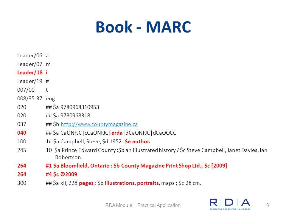 Map Questions Quiz RDA Module - Practical Application69