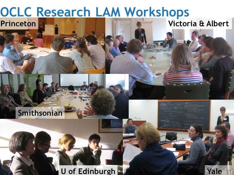 Günter Waibel – Leadership through Collaboration   Smithsonian Institution 09-20-2010 Princeton Smithsonian Victoria & Albert U of EdinburghYale OCLC Research LAM Workshops