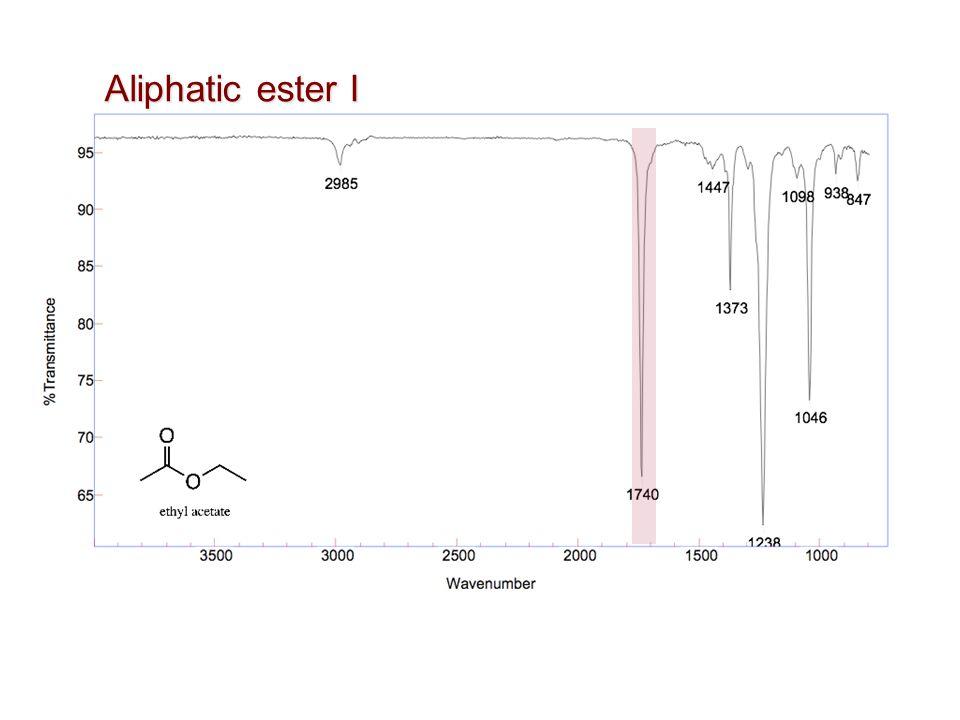 Aliphatic ester I