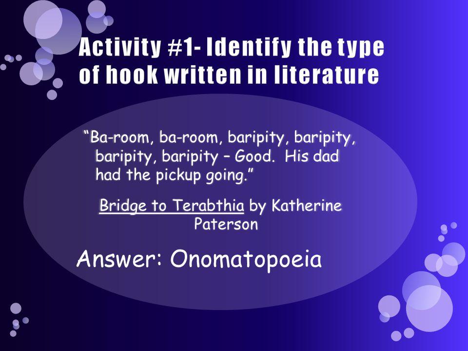 Answer: Onomatopoeia