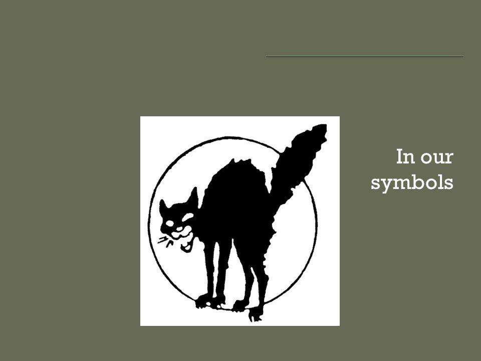 In our symbols