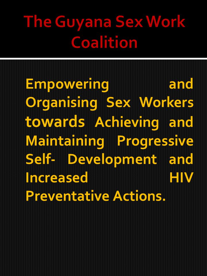 Welcome to this session on Empowering and organizing sex workers : a group that faces label and discrimination.