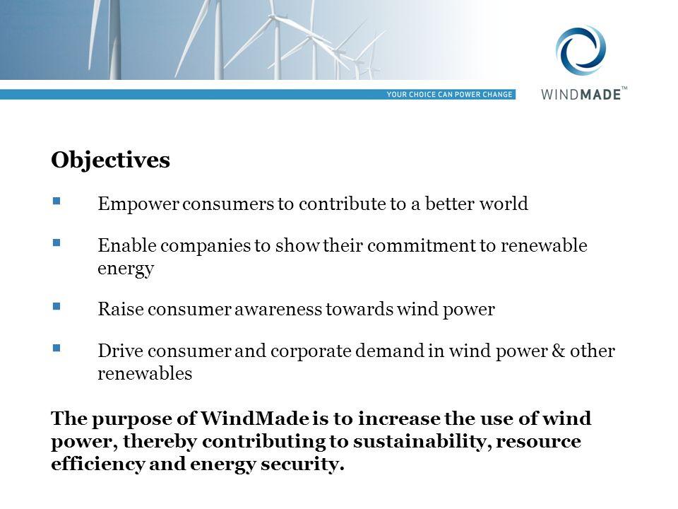 Procurement method II Power Purchase Agreement: minimum 5 years wind farm no older than 2 years