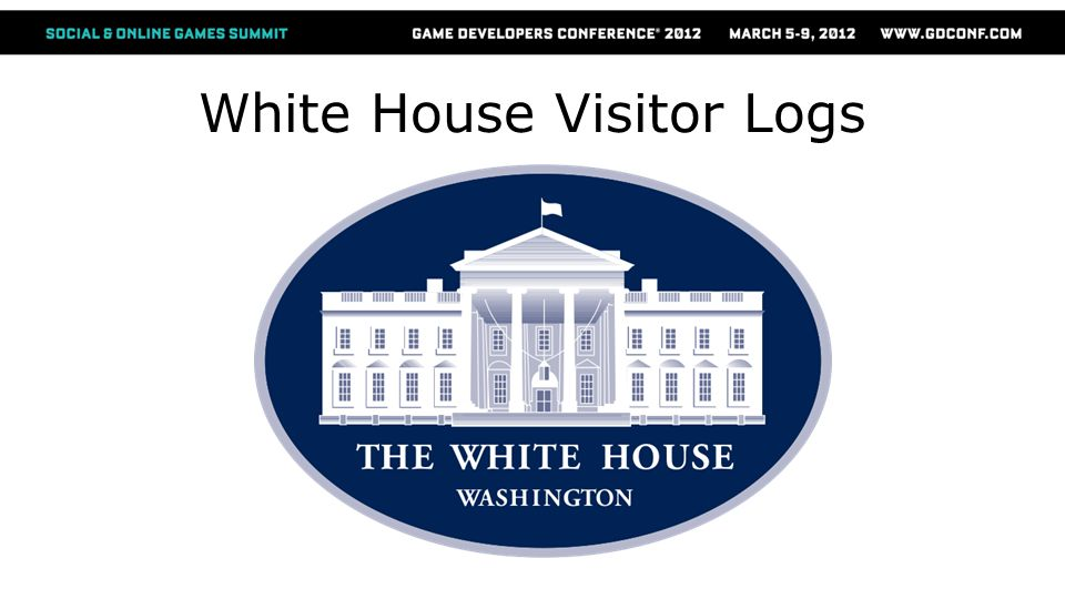 White House Visitor Logs