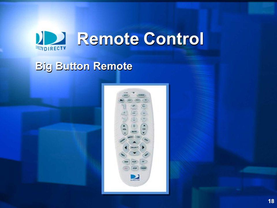 18 Remote Control Big Button Remote