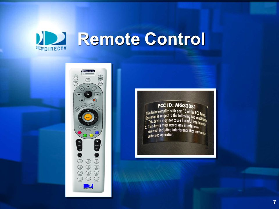 7 Remote Control