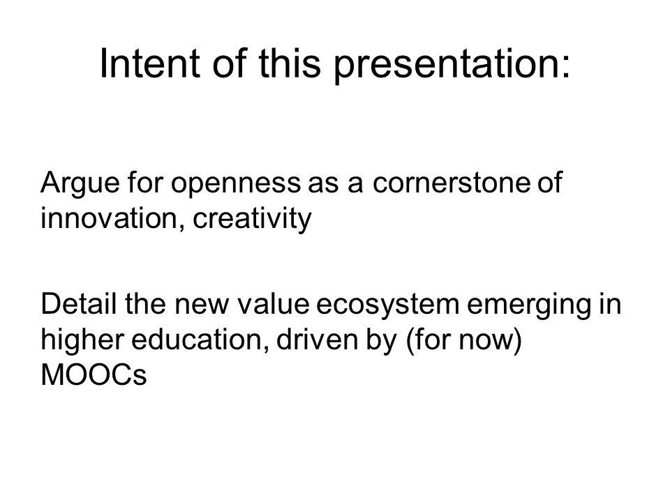 MOOCs $$$ Prestige & Influence