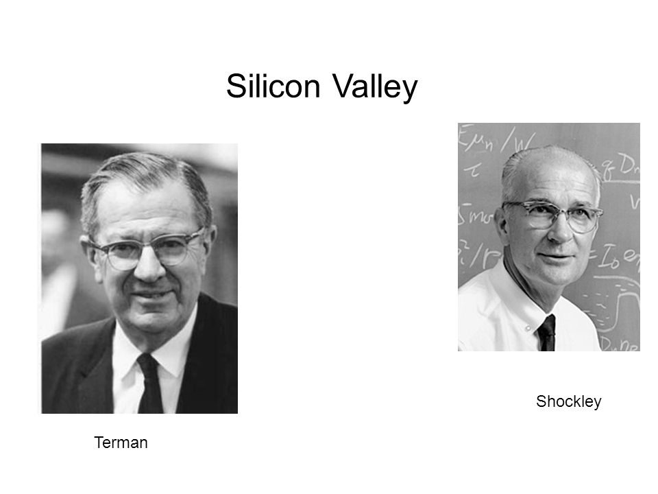 Silicon Valley Shockley Terman