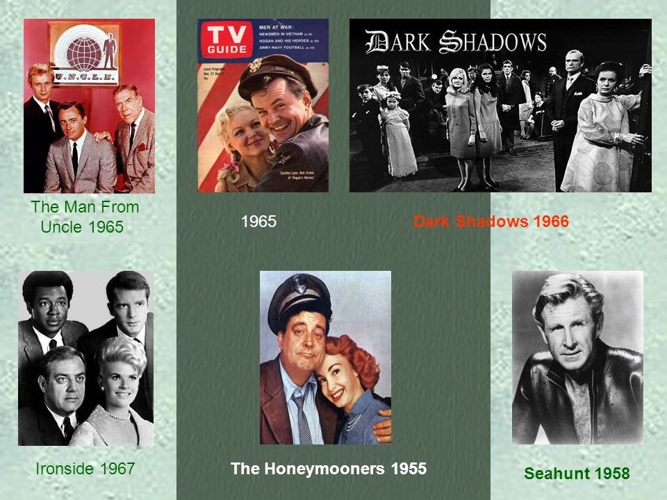 1954 1955 The Mickey Mouse Club 1959 Dr. Kildare 1961 Peyton Place 1964
