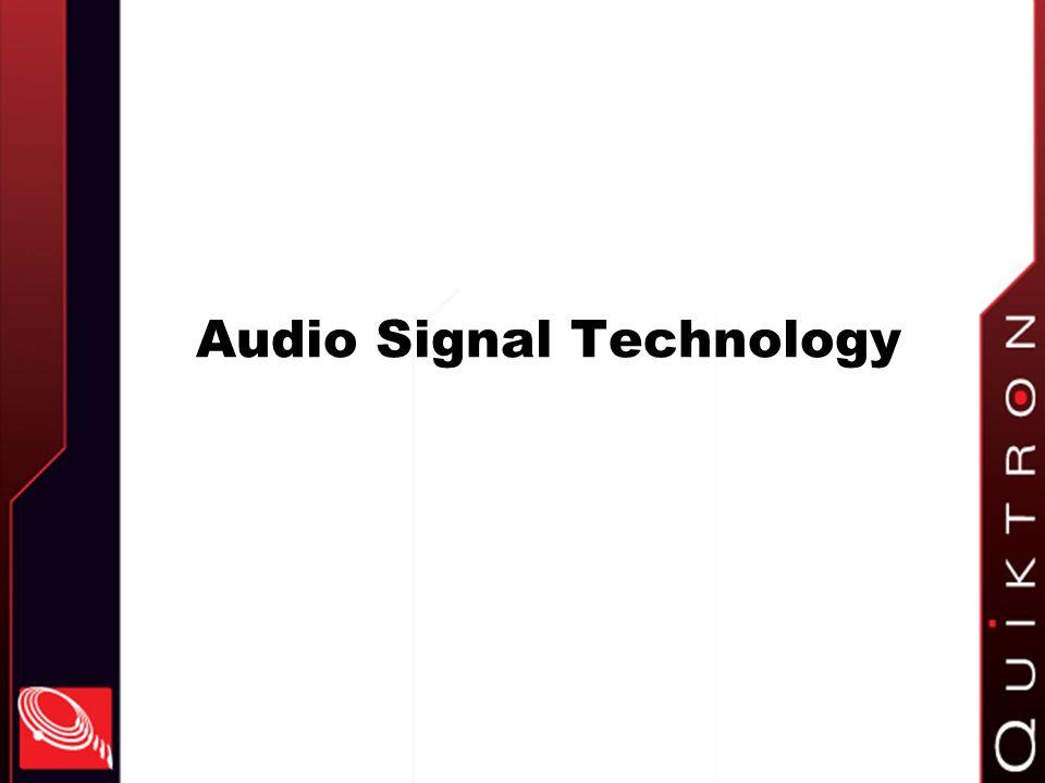 Audio Signal Technology