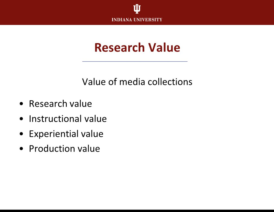Data Collection Research Value Score Condition/Risk Score Combined Score Collection Ranking Curatorial Review Selection for Preservation/Prioritizatio