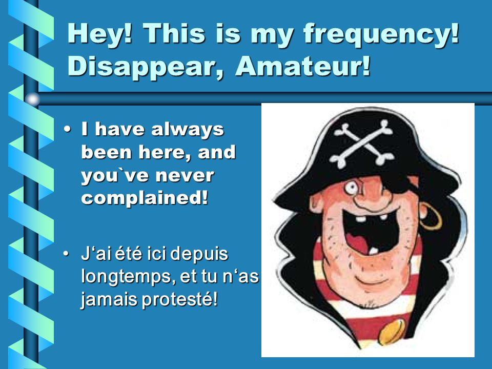 How to read a Frequency: AM – A3E Switch the receiver in position SSB, then tune to Zero- Beat and read the frequency!