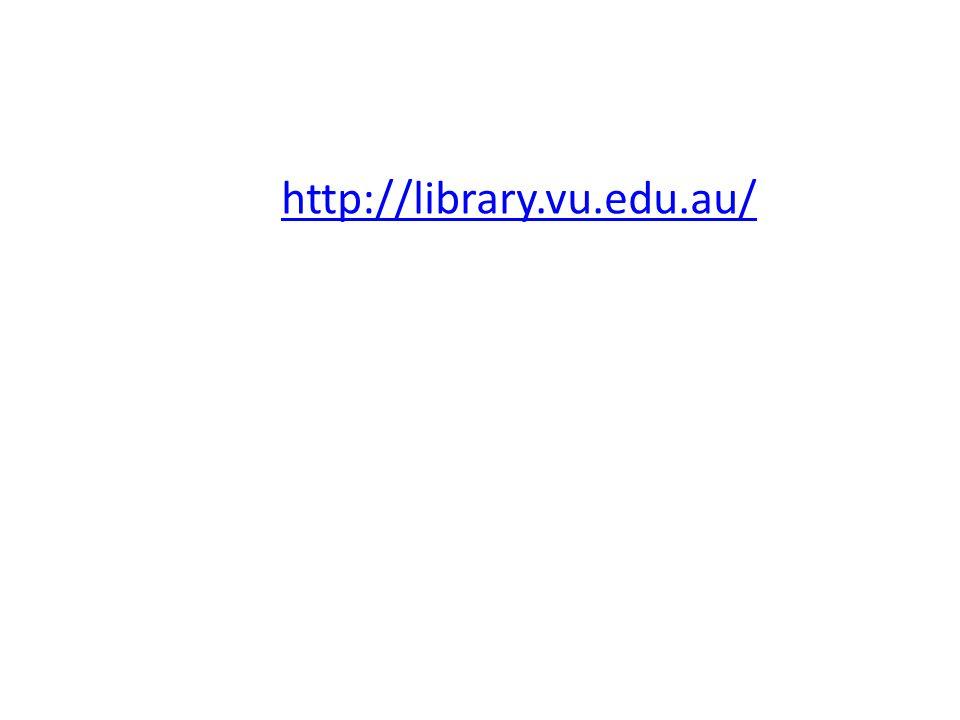 http://library.vu.edu.au/
