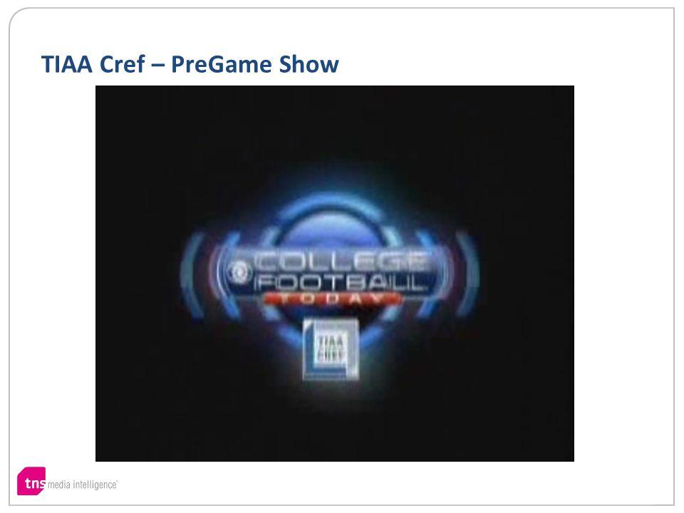 TIAA Cref – PreGame Show