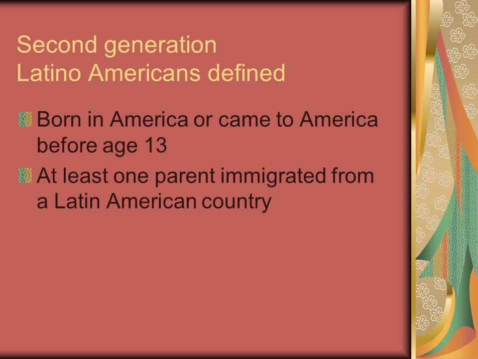 TV Programming Findings Growing up, second-generation Latino Americans saw TV as educational.