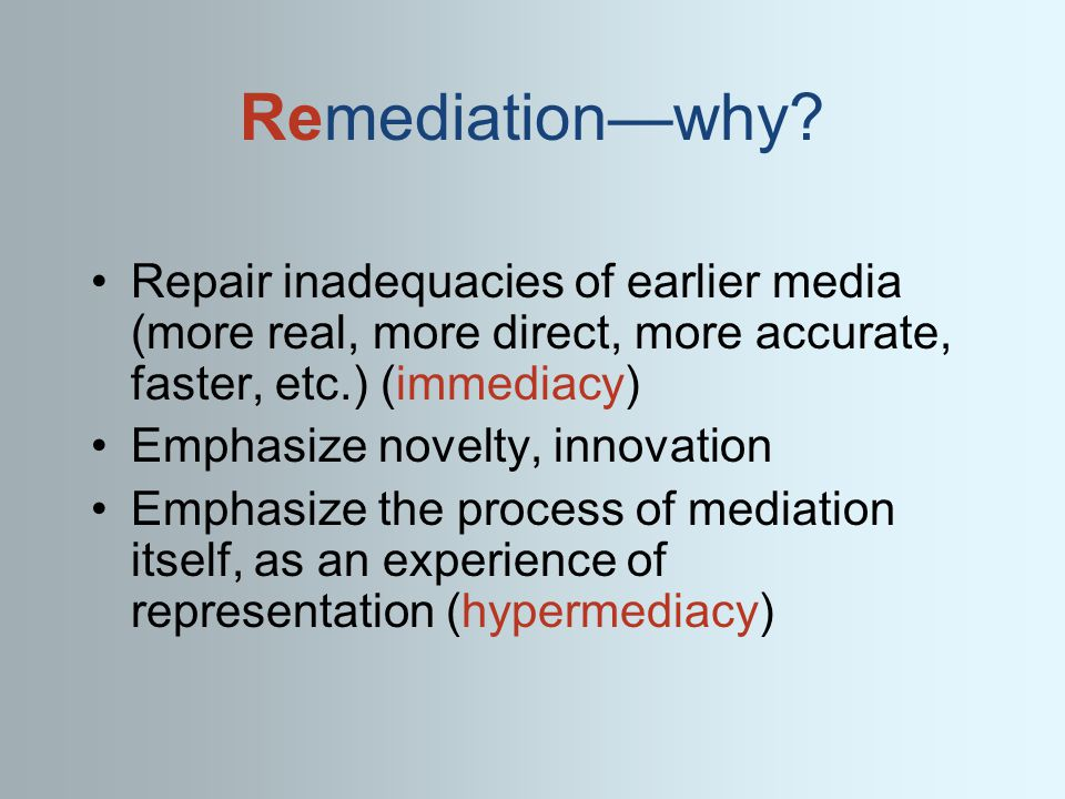 Remediationwhy.