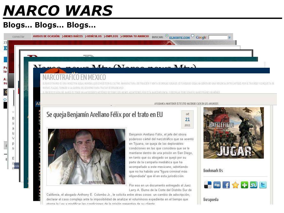 NARCO WARS _______________________________ Blogs… Blogs… Blogs…