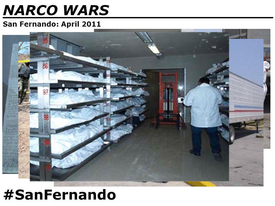 NARCO WARS _______________________________ San Fernando: April 2011 #SanFernando