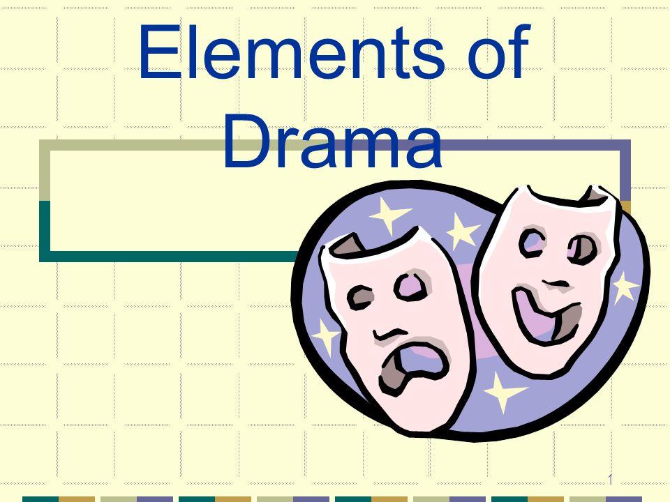 1 Elements of Drama