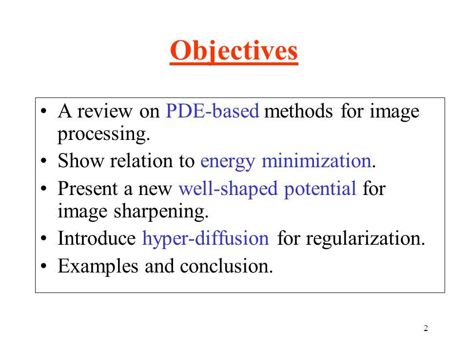 53 Inverse diffusion of a blurred image