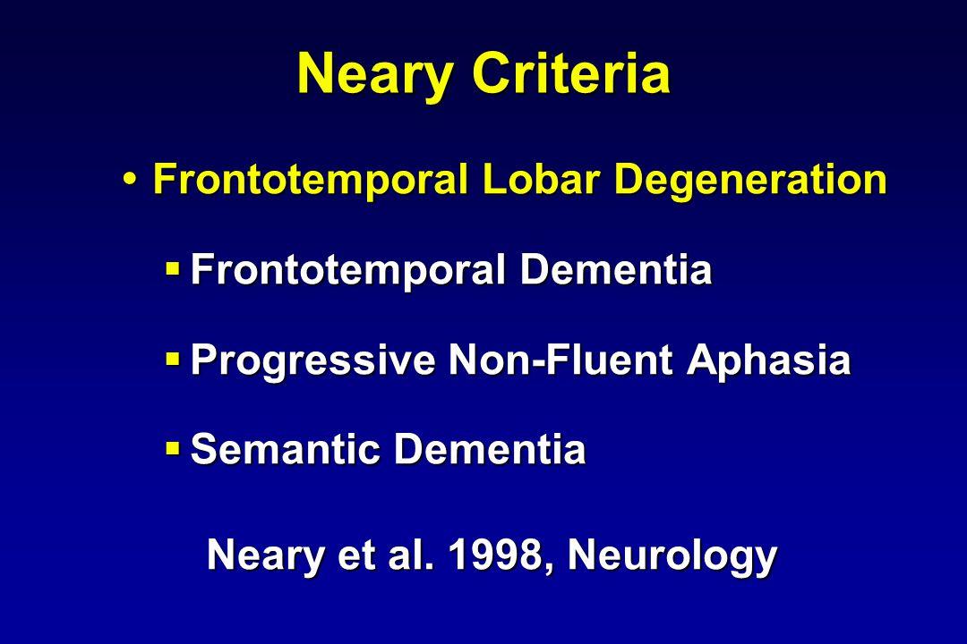 FTLD(n=35) % (+SD) PSP(n=25) CBD(n=5) Alzheimer (n=390) % (+SD) Age of onset (yr) 58.7(16.7)63.5(7.2)58.0(4.5)68.5(8.4) Presenile onset (%) 464810025.7 Family Hx (%) 54.3 54.3 25 * 20 24.1 & Gender (F %) 41286061