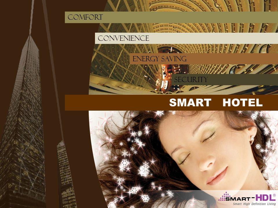 Convenience energy saving comfort SMART HOTEL SECURITY