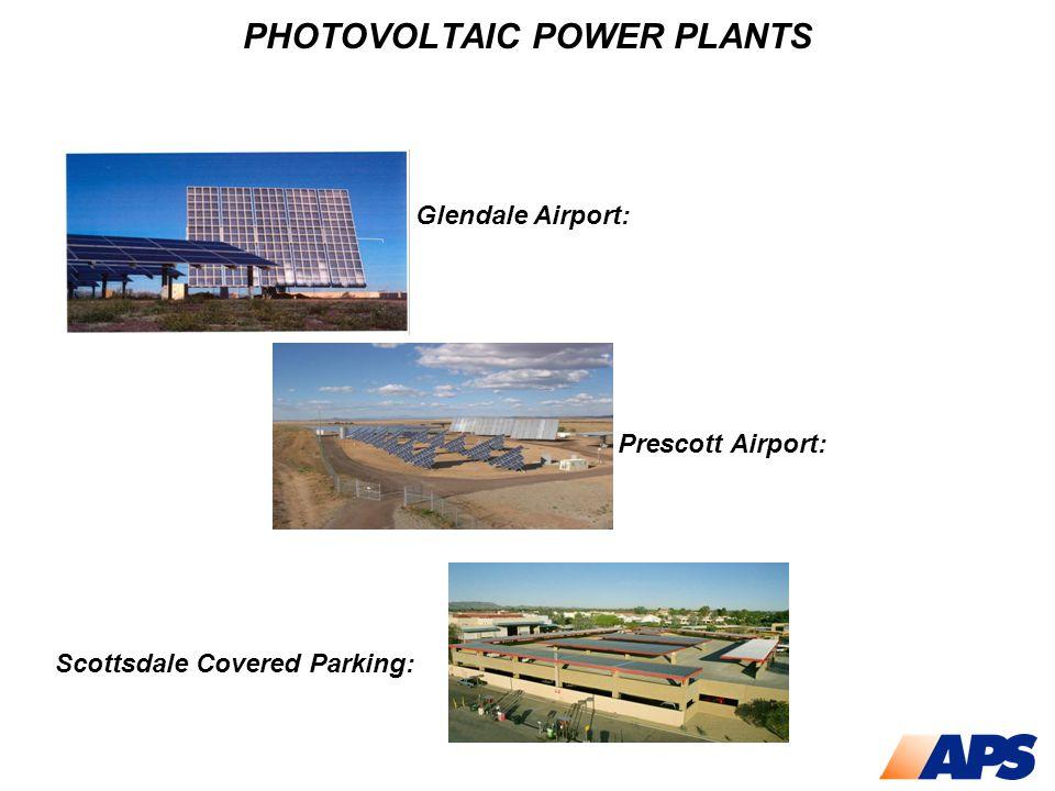 SOLAR THERMAL POWER PLANTS 10,000,000 Watts Solar II Experimental Power Plant, California 25,000 Watts Dish/Stirling Engine System, Arizona 1,000,000 Watts Parabolic Trough Power Plant, Arizona