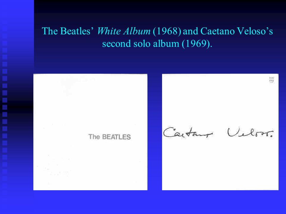 John Lennon and Yoko Onos Two Virgins (1968) and Caetanos Jóia (1975) with his first wife Dedé Gadelha and their son Moreno.
