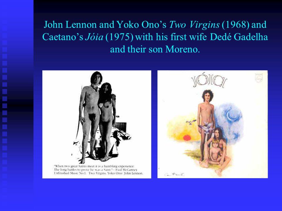 The Beatles Let it be (1970) and Caetano Velosos Qualquer Coisa (1975).