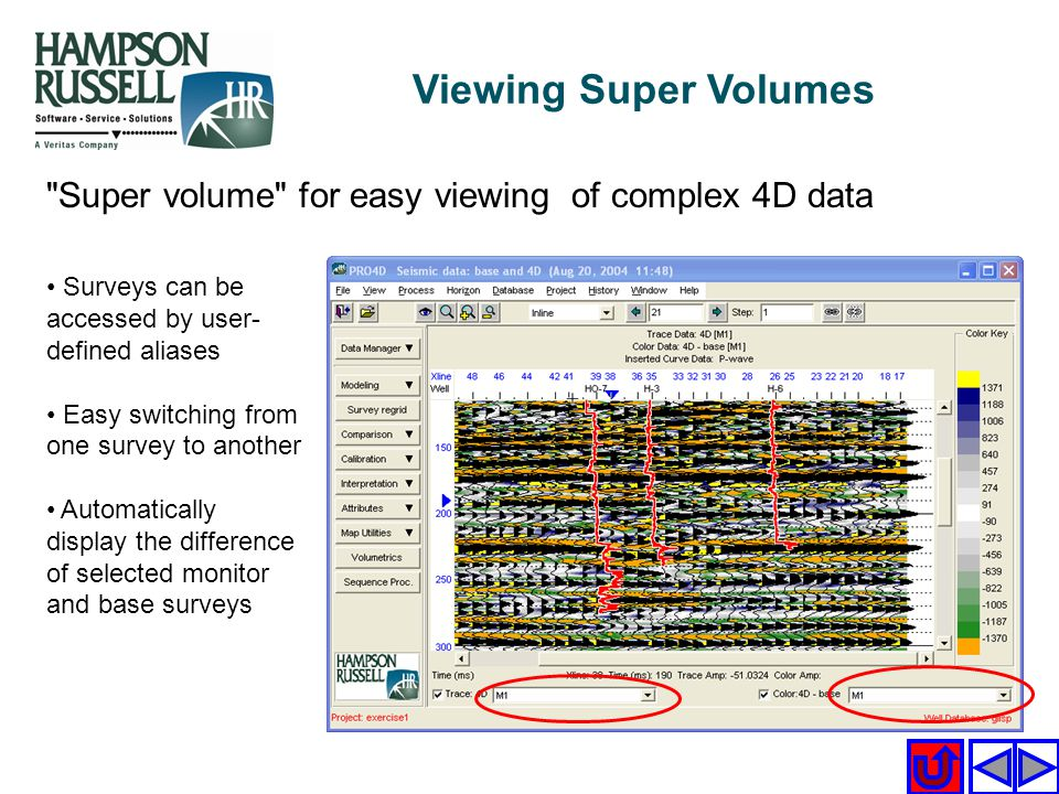 Viewing Super Volumes