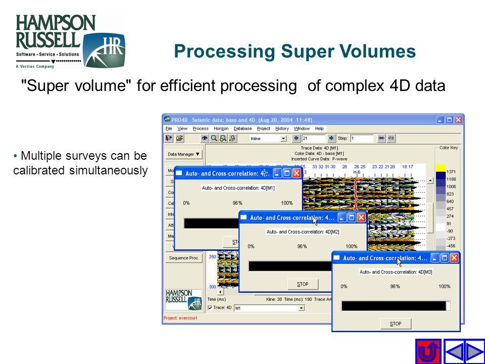 Processing Super Volumes