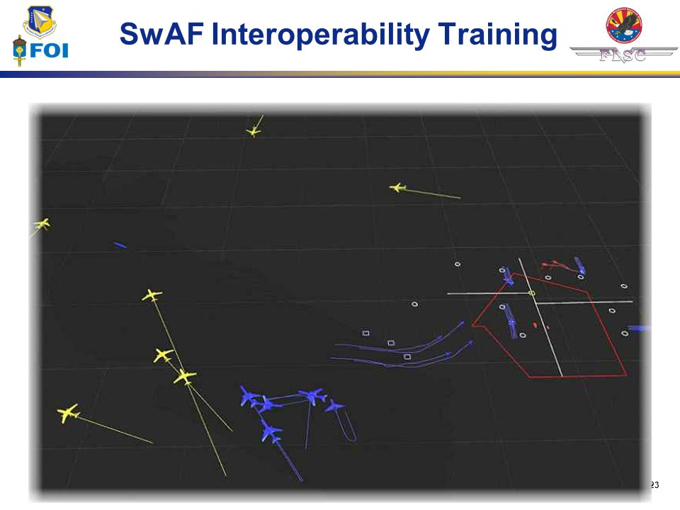 23 SwAF Interoperability Training