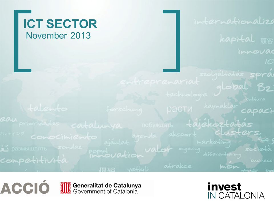 1 ICT SECTOR November 2013