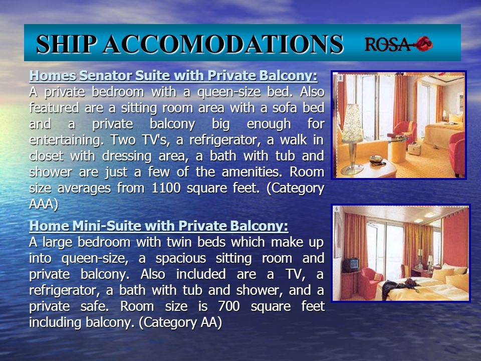Homes Senator Suite with Private Balcony: A private bedroom with a queen-size bed.