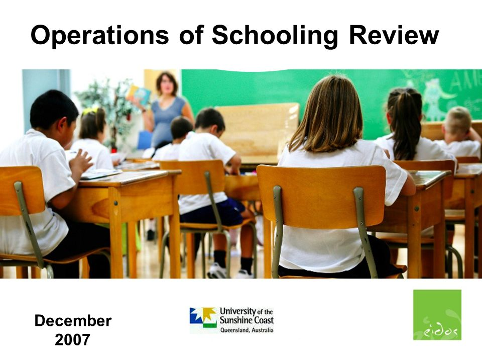 22 School Size Operations of Schooling Review 3/12/7