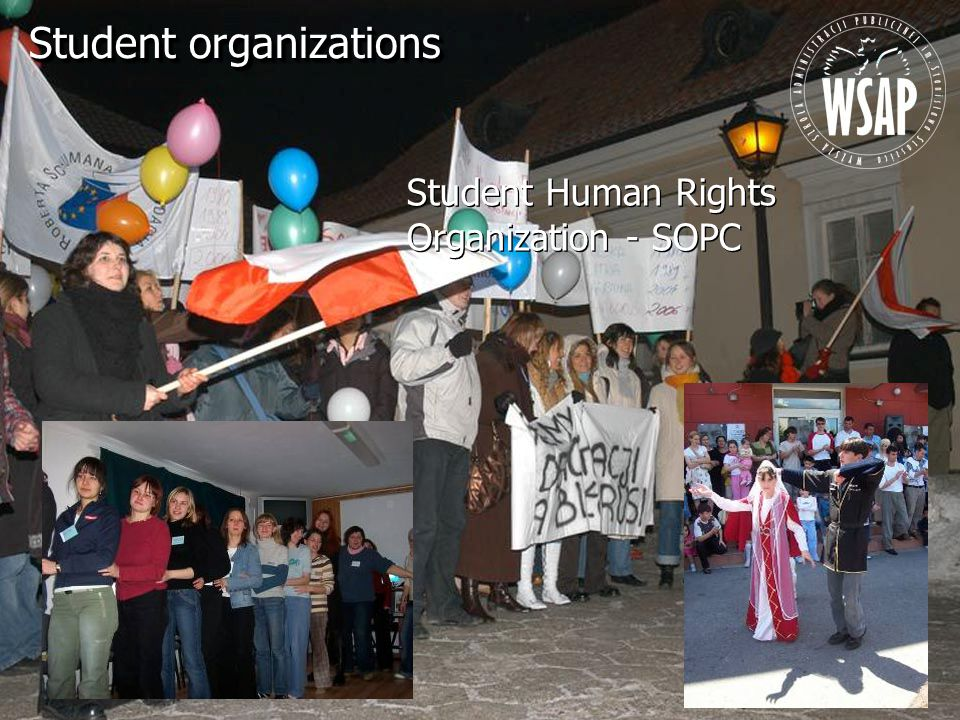 Student Human Rights Organization - SOPC Student organizations