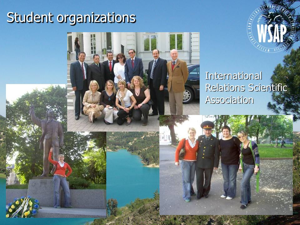 International Relations Scientific Association Student organizations