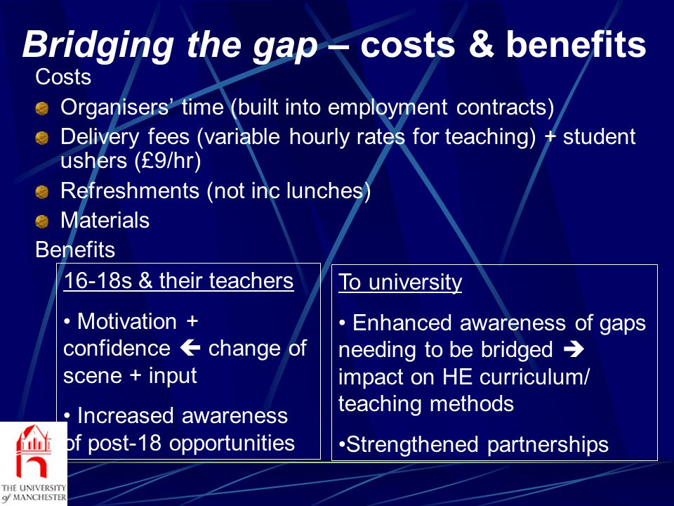 UMILAP - characteristics Primarily years 10 & 11, widening access target groups; ½-day visits to university: Campus tours Talks eg careers & language study Meet university students Hands-on workshops in Language Centre (CD ROMs, internet, TV) Option of subsequent virtual mentoring scheme