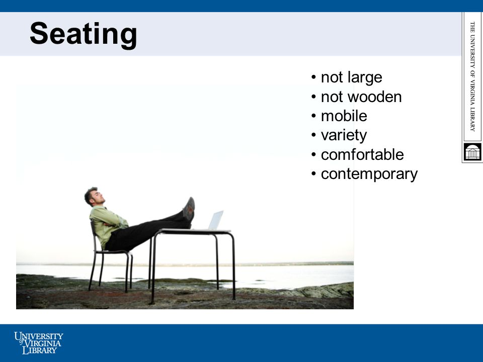 Seating not large not wooden mobile variety comfortable contemporary